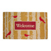 allen + roth 29.4-in x 17.6-in Rectangular Door Mat