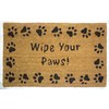 Style Selections Brown Rectangular Door Mat (Common: 18-in x 30-in; Actual: 17.6-in x 29.4-in)