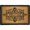allen + roth 36-in x 24-in Brown Rectangular Door Mat
