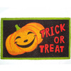 Style Selections HALLOWEEN PROMO Black Rectangular Door Mat (Common: 18-in x 30-in; Actual: 17.6-in x 29.4-in)