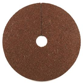 Rubberific 24-in Red Recycled Rubber Mulch Tree Ring