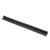 Rubberific 4-ft Black Landscape Edging Section