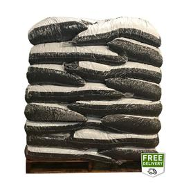 Rubberific 80-cu ft Rubber Shredded Green Bulk Mulch (Playground Certified)