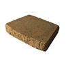 allen + roth Fulton 16-in L x 3-in H Brown Basic Retaining Wall Cap (Actuals 16-in L x 3-in H)