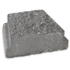 Charcoal Insignia Edging Stone (Common: 3-in x 9-in; Actual: 2.9-in H x 8.7-in L)