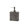 BathSense Grey Soap/Lotion Dispenser
