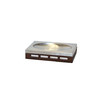 BathSense Natural Wood Tones Soap/Lotion Dispenser