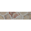 FLOORS 2000 Stonehenge Rosso Glazed Porcelain Indoor/Outdoor Bullnose Tile (Common: 3-in x 20-in; Actual: 3-in x 17.72-in)