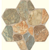 FLOORS 2000 5-Pack 18-in x 18-in Teras Multicolor Glazed Porcelain Floor Tile