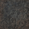 FLOORS 2000 36-Pack Riverstone Fuerte Black Glazed Porcelain Indoor/Outdoor Floor Tile (Common: 6-in x 6-in; Actual: 6.46-in x 6.46-in)