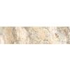 FLOORS 2000 Vitality Earth Beige Glazed Porcelain Indoor/Outdoor Bullnose Tile (Common: 3-in x 12-in; Actual: 3-in x 11.92-in)