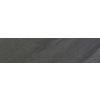 FLOORS 2000 Galaxy Nero Black Porcelain Bullnose Tile (Actual: 3-in x 18-in)