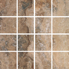 FLOORS 2000 Mansion Rich Uniform Squares Mosaic Porcelain Floor and Wall Tile (Common: 12-in x 12-in; Actual: 11.92-in x 11.92-in)