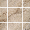 FLOORS 2000 Mansion Fine Brown Uniform Squares Mosaic Porcelain Floor Tile (Common: 12-in x 12-in; Actual: 11.92-in x 11.92-in)