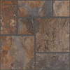 FLOORS 2000 Autumn 7-Pack Leaf Porcelain Floor and Wall Tile (Common: 18-in x 18-in; Actual: 17.71-in x 17.71-in)