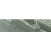 FLOORS 2000 Bari Cuarzo Green Glazed Porcelain Mosaic Indoor/Outdoor Bullnose Tile (Common: 3-in x 18-in; Actual: 3-in x 17.72-in)