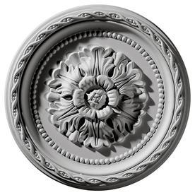 Ekena Millwork Palmetto 11.5-in x 11.5-in Polyurethane Ceiling Medallion