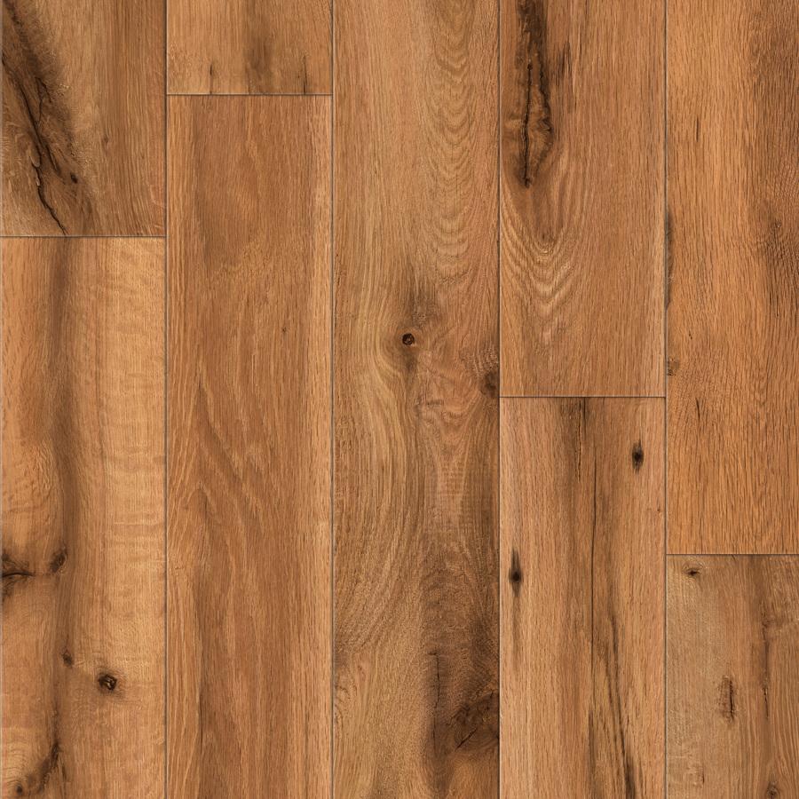 Shop Allen Roth Handscraped Oak Wood Planks Sample