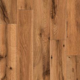 allen + roth Handscraped Oak Wood Planks Sample (Lodge Oak)