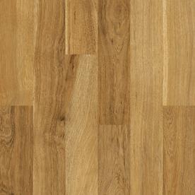 Style Selections SwiftLock 7.6-in W x 4.23-ft L Medium Oak Embossed Laminate Wood Planks