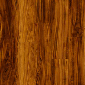 Style Selections 4.45-in W x 4.23-ft L Soft Plum Wood Plank Laminate Flooring