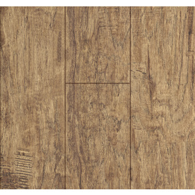 24-in W x 4.23-ft L Rustic Hickory Handscraped Laminate Wood Planks