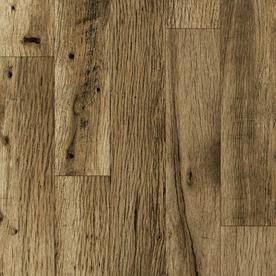 allen + roth 4.96-in W x 4.23-ft L Rustic Mill Oak Embossed Laminate Wood Planks