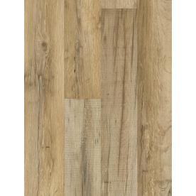 Style Selections 7.6-in W x 4.23-ft L Tavern Oak Embossed Laminate Floor Wood Planks