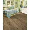 allen + roth Handscraped Oak Wood Planks Sample (Driftwood Oak)