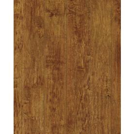 allen + roth Allen + Roth 4.96-in W x 4.23-ft L Handscraped Ginger Maple Wood Plank Laminate Flooring