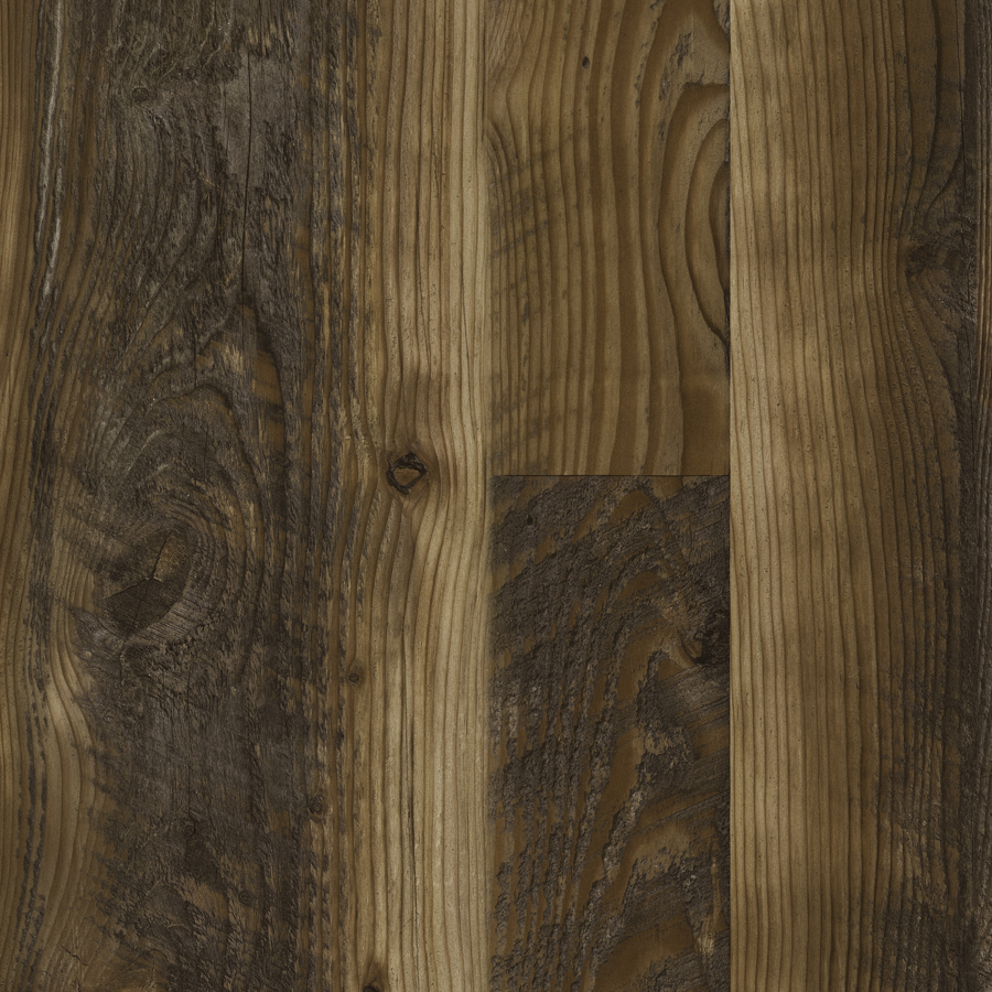 Shop allen + roth 7.6-in W x 4.23-ft L Kettle Pine Embossed Laminate ...