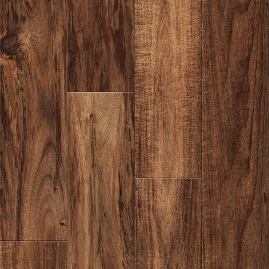 Shop Allen Roth Handscraped Acacia Wood Planks Sample