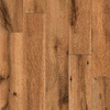 allen + roth 4.96-in W x 4.23-ft L Lodge Oak Handscraped Laminate Floor Wood Planks