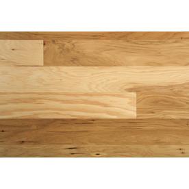 Mohawk 0.375-in Hickory Locking Hardwood Flooring Sample (Sunrise)