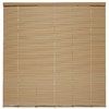 Style Selections 1-in Vinyl Room Darkening Cordless Mini-Blinds (Actual: 64-in)