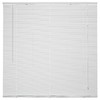 Project Source 1-in White Vinyl Light Filtering Mini-Blinds