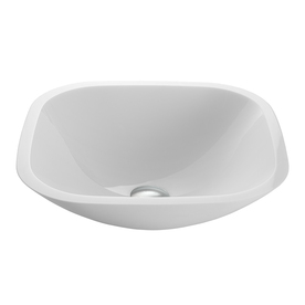 Display Product Reviews For White Glass Vessel Round Bathroom Sink