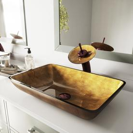 Display Product Reviews For Vessel Sink Faucet Set Janus Glass Vessel Round Bathroom Sink With