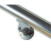 PROVA 2-Pack Powder Coated Gray Steel Line Bracket Handrail Brackets