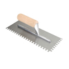 PRECISION 11-in Ground Steel Square Notch Ceramic Floor Trowel