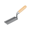 Blue Hawk 5-in Ground Steel Square Notch Ceramic Floor Trowel