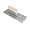 Blue Hawk 11-in Ground Steel Square Notch Ceramic Floor Trowel