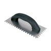 Project Source 9-in Ground Steel Square Notch Ceramic Floor Trowel