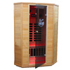 LifeSmart 74-1/2-in H x 48-in W x 54-in D Hemlock Fir Wood Indoor Sauna