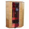 LifeSmart 74-1/2-in H x 48-in W x 54-in D Hemlock Fir Wood Indoor Sauna