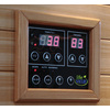 LifeSmart 79-in H x 52-in W x 52-in D Hemlock Fir Wood Indoor Sauna