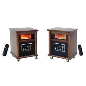 LifeSmart Infrared Compact Personal Electric Space Heater