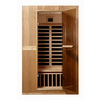LifeSmart 74-3/4-in H x 47-1/4-in W x 39-1/2-in D Hemlock Fir Wood Indoor Sauna