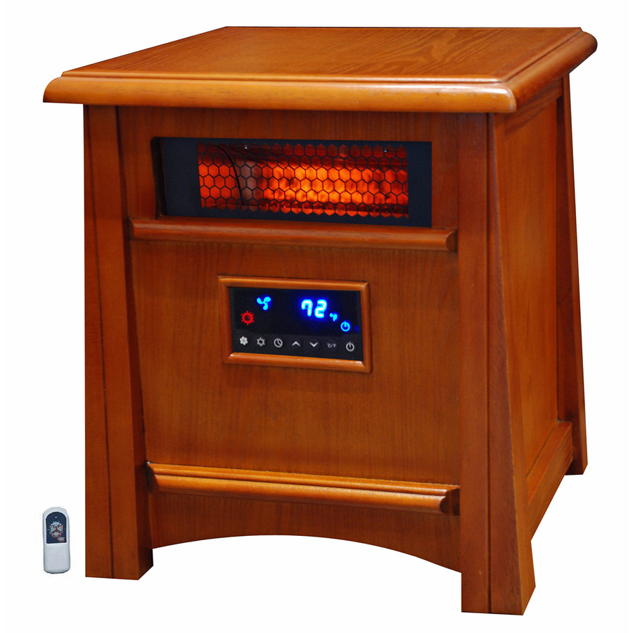 Shop LifeSmart 5,100-BTU Infrared Cabinet Electric Space Heater with