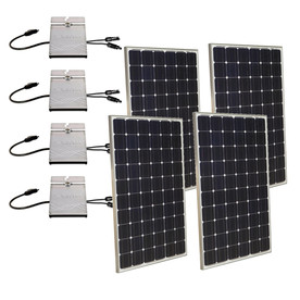 Grape Solar 1-Kilowatt Grid-Tie Solar Electric Power Kit GS-1000-KIT